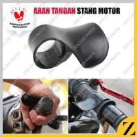 Penahan gas motor holder stang grip arm rest support motor gas plastik