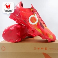 Sepatu Bola Ortuseight Catalyst Therion FG Ortrange Red 11010141 Ori - 43