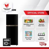 POLYTRON Belleza Big Liter 2 Doors Refrigerator 350 Litres PRM 490X