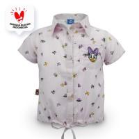 Shirt / Kemeja Anak Perempuan Purple / Ungu Daisy Duck Charming