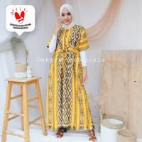 Dress Outer Etnik Tenun Ikat Dakara Indonesia