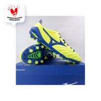 Sepatu Bola Mizuno Morelia Neo II MD Yellow Blue P1GA205325 Original - 39