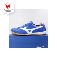 Sepatu Futsal Mizuno Morelia IN MS-065 Reflex Blue Q1GA200125 Original