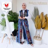 Outer Panjang Ethnic Tenun Ikat - Dakara Indonesia