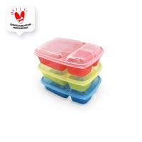Arniss Lunch Box 15 Kotak Makan 3 sekat