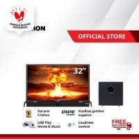 POLYTRON Cinemax Soundbar LED TV 32 inch PLD 32B1550 /W