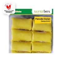 Pancake Durian Non Cream 1 pack Sayurbox