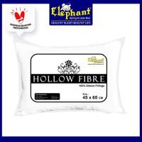 [FS] Bantal Kepala Silikon Hotel Elephant / Hollow Fibre