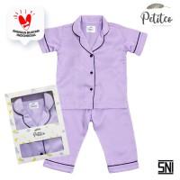 Petito Piyama Baju Tidur Bayi Anak / Lilac - S 6-24 Bulan