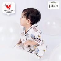 Petito Piyama baju tidur bayi anak - Rainbow Limited Edition - M 2-3 Tahun