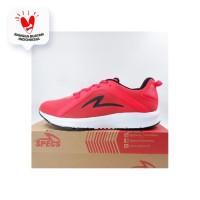 Sepatu Running/Lari Specs Lightstreak Emperor Red Black 200641 Ori