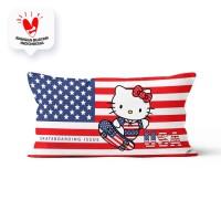 Bantal Ukuran 45x90cm Motif Hello Kitty - 14