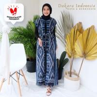 Gamis Dress Etnik Tenun Ikat - Dakara Indonesia
