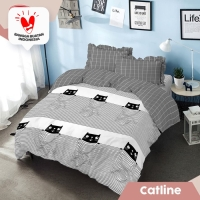 Kintakun D'Luxe Bed Cover size 160x200 cm - Catline