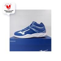 Sepatu Volley Mizuno Thunder Blade 2 MID True Blue V1GA197506 Original