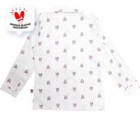 Shirt / Kemeja Anak Perempuan White / Putih Daisy Duck Trip