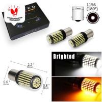 Lampu LED Mundur Sein Sign 1156 CANbus Ba15s Bau15s 144 SMD LED 12-24V