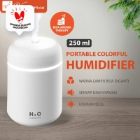 VIOLIN AIR HUMIDIFIER ULTRASONIC DIFFUSER KAPSUL - HF04(PUTIH)