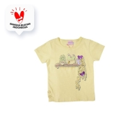 Tshirt / Kaos Anak Perempuan / Rodeo Junior Girl Cute Button