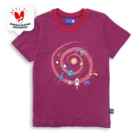 T Shirt / Kaos Anak Laki-laki Maroon / Rodeo Junior Boy Summer Fun