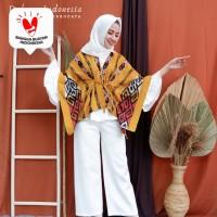 Kimono Outer Etnik Tenun Ikat Adriana Dakara Indonesia