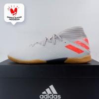 Sepatu Futsal Anak Adidas Nemeziz 19.3 IN JR Grey Two EF8304 Original