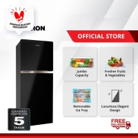 Polytron Belleza JUMBO 2 Doors Refrigerator 220 Litres PRW 23MNX