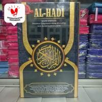 Alquran Tajwid Al-Hadi besar, Quran Arab-Latin-Terjemah Perkata Alhadi