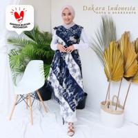 Sabrina Etnik Dress Tenun Ikat - Dakara Indonesia