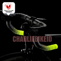 CICLOVATION Advanced Bar Tape Leather Touch Fusion Series Neon Yellow