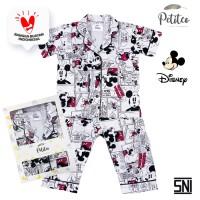 Petito Piyama Baju Tidur Bayi Anak / Limited Edition - Mickey Mouse - S 6-24 Bulan