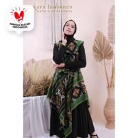 Dress Tenun Ikat Etnik Sabrina Dakara Indonesia