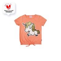 Tshirt / Kaos Anak Perempuan / Rodeo Junior Girl Cute Horse O