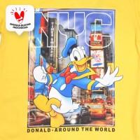 T Shirt / Kaos Anak Laki-laki Yellow / Kuning Donald Duck Fun