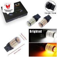 Lampu LED Mundur Sein Sign T20 7440 CANbus 144 SMD LED 12-24V