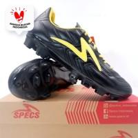 Sepatu Bola Specs Tycon FG Black Fresh Yellow 101370 Original BNIB