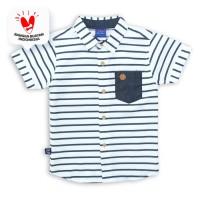 Shirt / Kemeja Anak Laki-laki White / Putih Rodeo Junior Boy Summer
