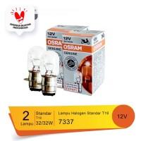 Osram Lampu Utama Motor Headlamp T19 M5 K1 Putih Kekuningan 7337 - 2Bh