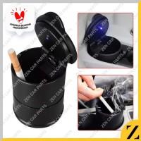 Car Ashtray Cup Asbak Mobil Tempat Abu Rokok Lampu LED