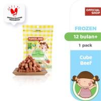 Pureeland Baby Beef Cube / MPASI Bayi Organik / Makanan Bayi
