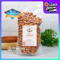 Kacang almond mentah kupas 500gr / raw whole almond