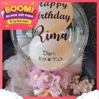 kado valentine buket balon coklat ferrero hadiah ulang tahun gift