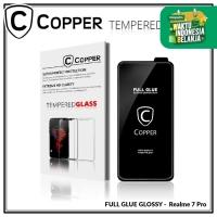 Realme 7 Pro - COPPER Tempered Glass Glossy FULL GLUE PREMIUM