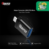 Sniper OTG Connector Micro USB Fast Charging