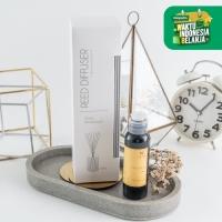 UCHII Reed Diffuser Okashi   Natural Aroma Therapy Pewangi Ruangan Abu