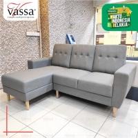 SOFA SUDUT / SOFA CORNER / SOFA L LAVIRA / VASSA SOFA