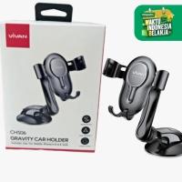 VIVAN CHS06 PHONE GRAVITY CAR HOLDER MOBIL SUCTION CUP AUTO LOCK HP