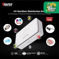 UV Disinfection Cell Phone UV Sterilizer box With Wireless Charger 15W