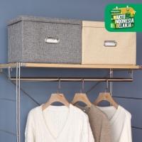 UCHII HAKO Folding Storage Box Keranjang Baju Multi Fungsi Sofa & Laci