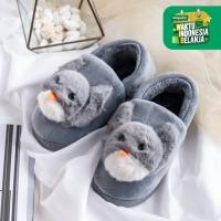 UCHII Exclusive Kids NEKO Home Shoe Unisex Plush Doll   Sepatu Anak